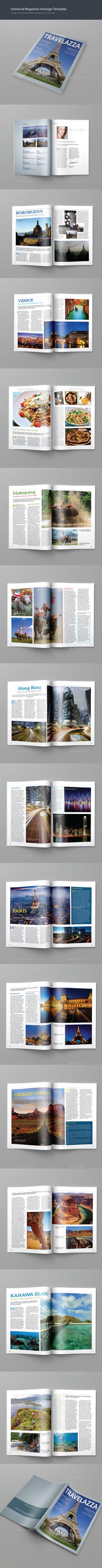 Travelazza Magazine - Magazines Print Templates