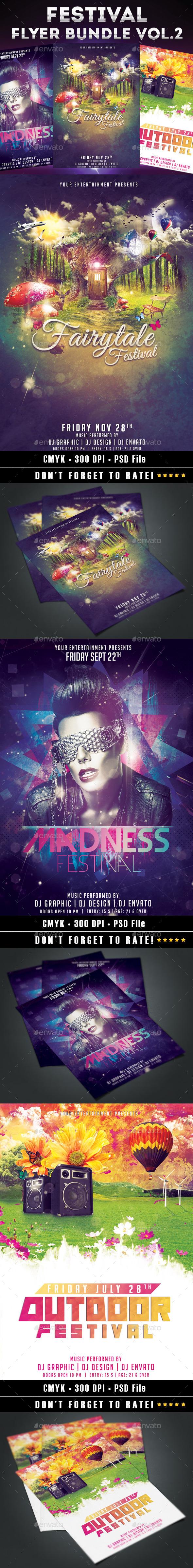 Festival Bundle Vol.2 - Events Flyers