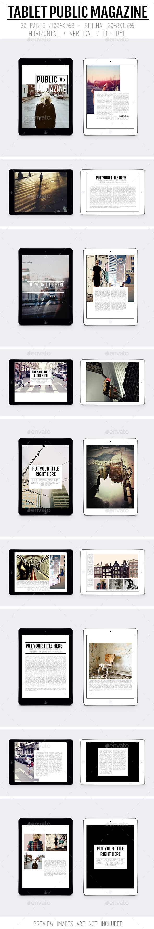 Tablet Public Magazine - Digital Magazines ePublishing