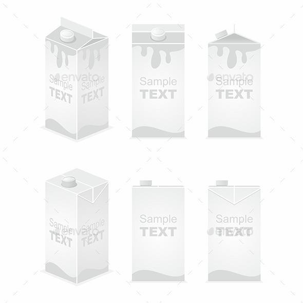 Juice Pack - Vectors