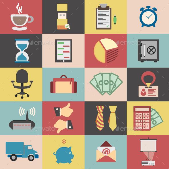 20 Business Vectors Package - Concepts Business