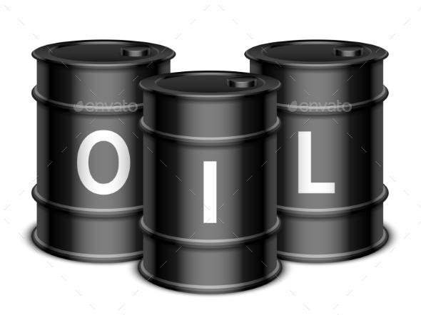 Oil Barrels - Industries Business
