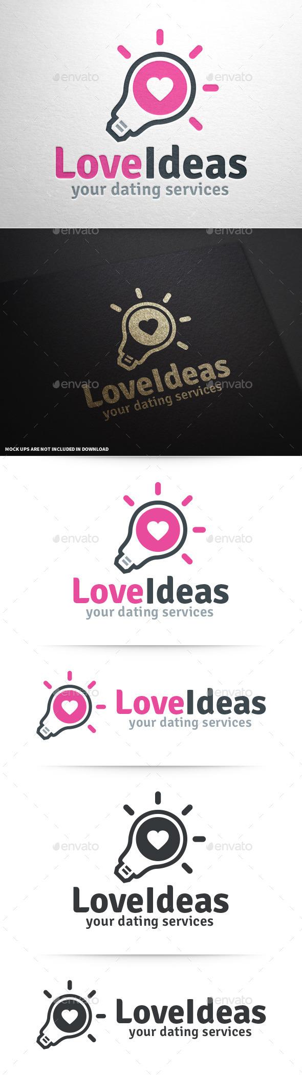 Love Ideas Logo Template - Symbols Logo Templates
