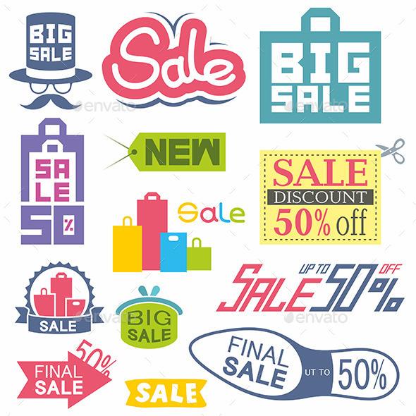 Sale Tags - Business Conceptual