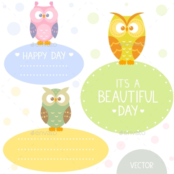 Owl Frame - Decorative Symbols Decorative