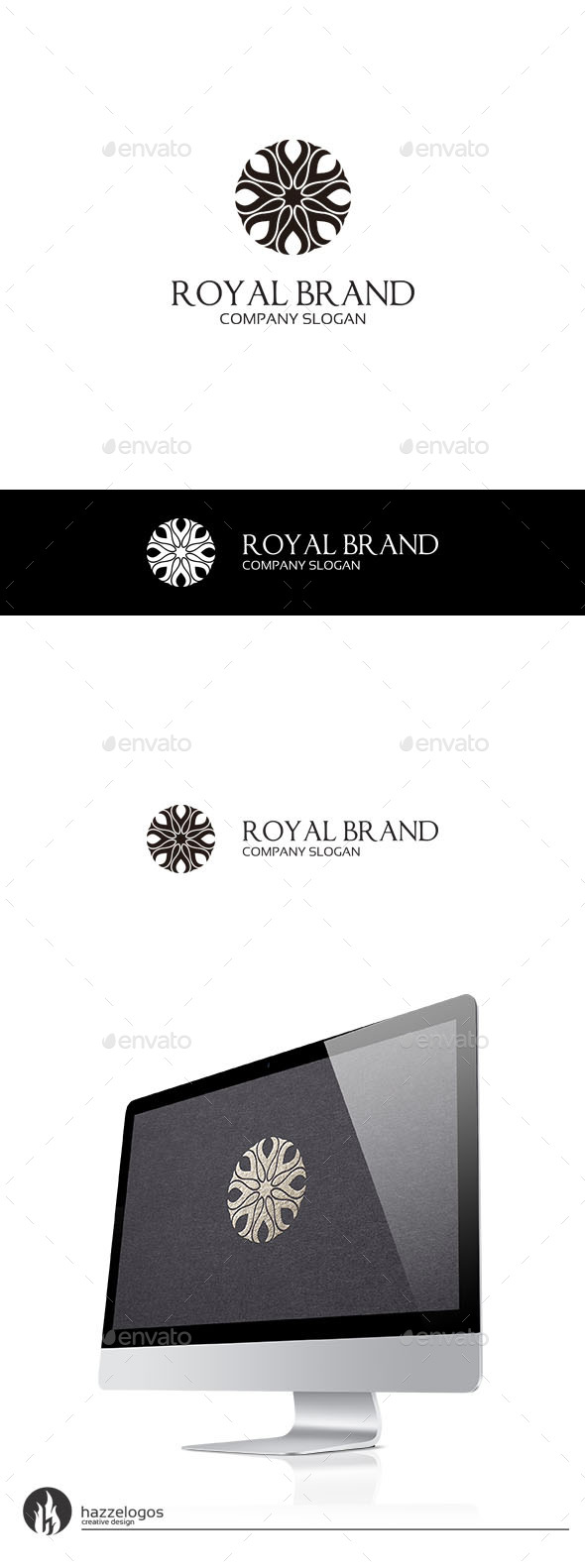 Royal Brand V2 Logo - Crests Logo Templates