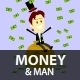 Man and Money Clipart - GraphicRiver Item for Sale