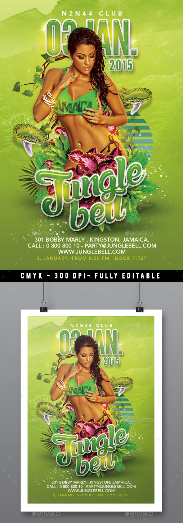 Mid-Winter Jungle Bell Back 2 Summer Party - Clubs & Parties Events