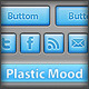 Plastic Mood - Components for App Interface - GraphicRiver Item for Sale