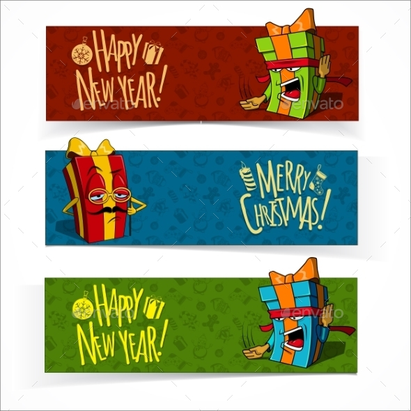 Christmas and New Year Banners. - Christmas Seasons/Holidays
