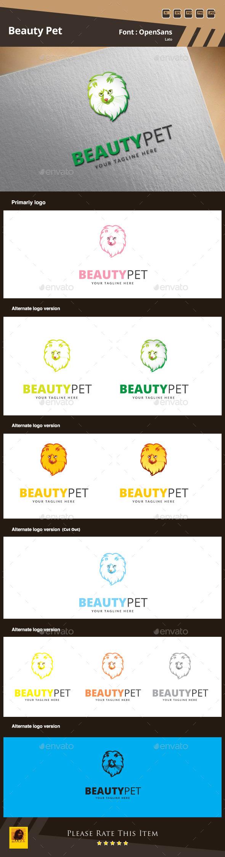 Beauty Pet Logo Template - Animals Logo Templates