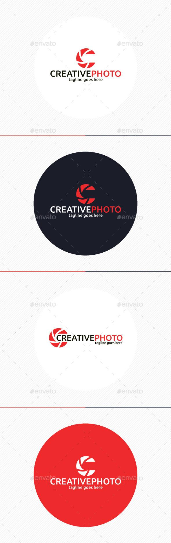 Creative Photo Logo • Letter C - Letters Logo Templates