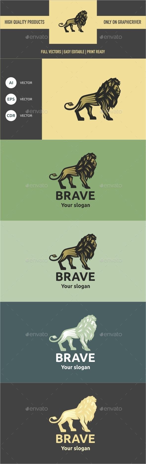 Brave - Crests Logo Templates