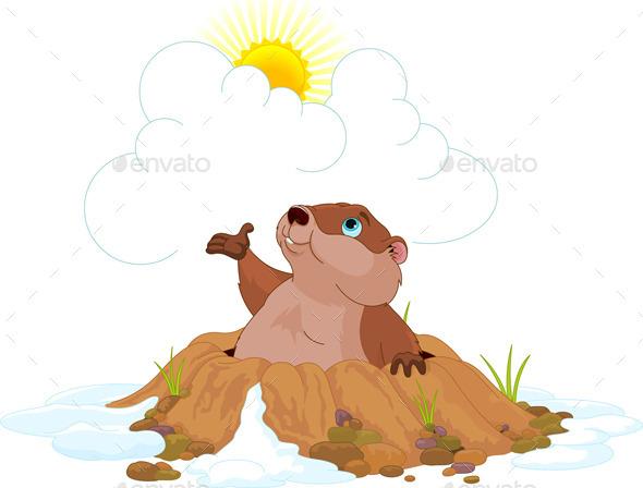 Groundhog - Animals Characters