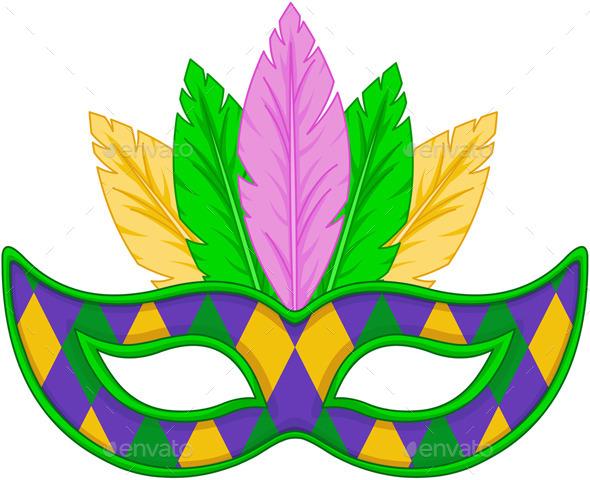 Mardi Gras Mask - Seasons/Holidays Conceptual