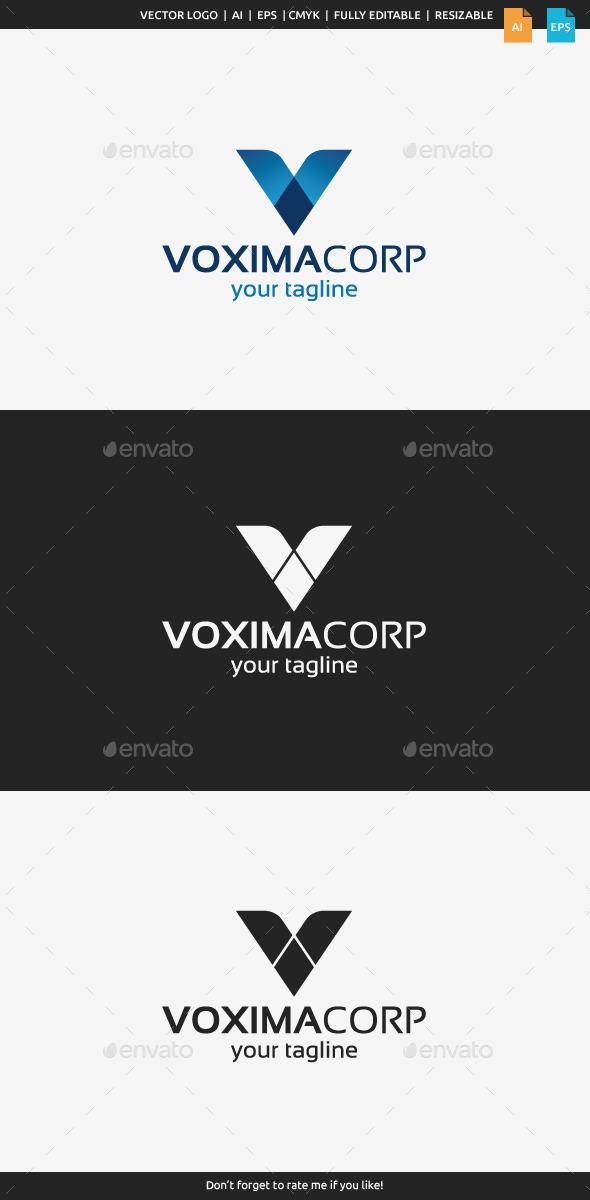 Vaxima Logo - Letter V - Letters Logo Templates