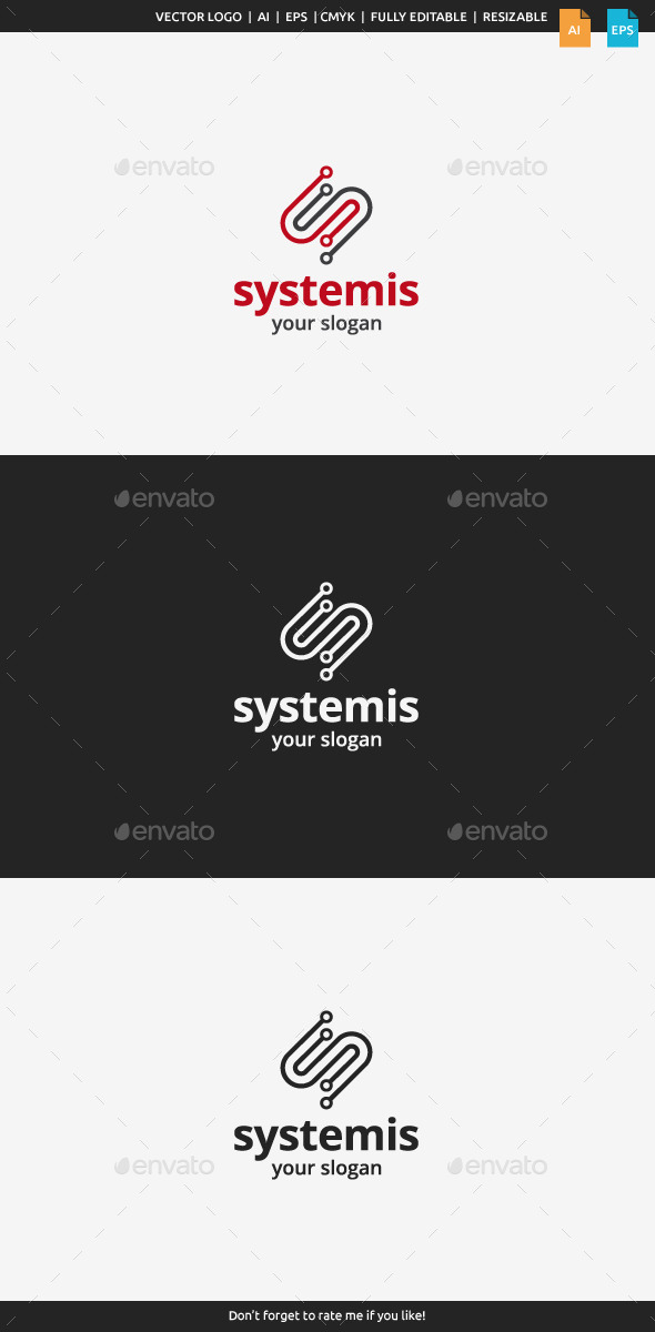Systemis Logo - Letter S - Letters Logo Templates