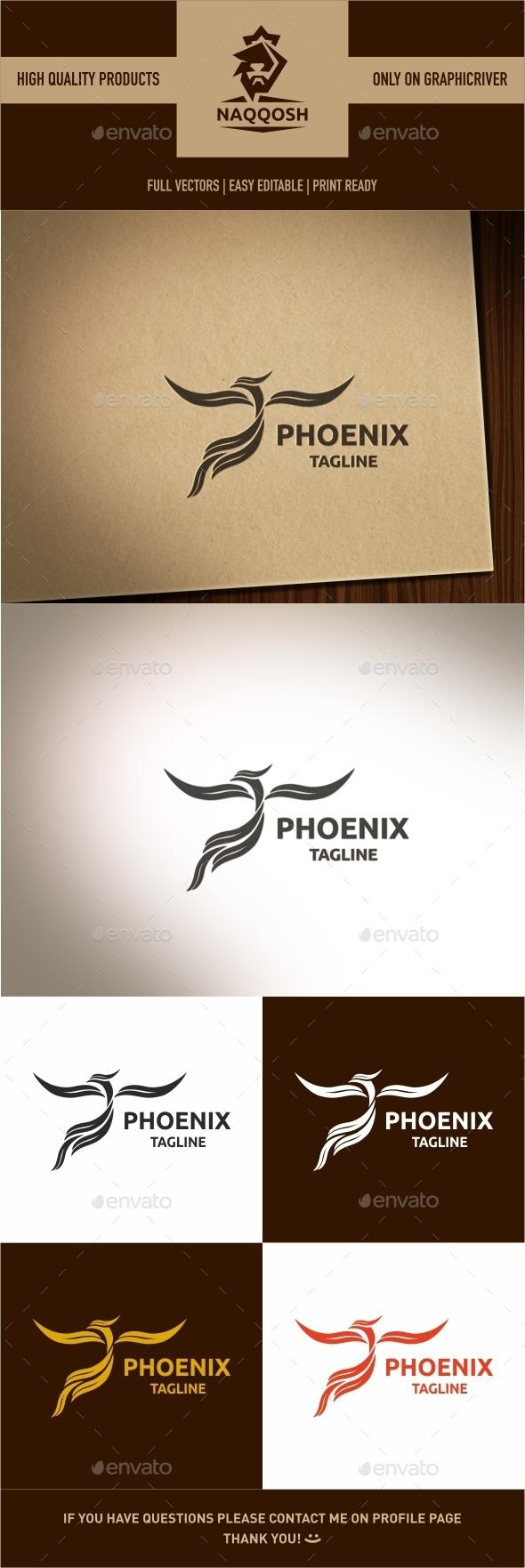 Phoenix - Crests Logo Templates