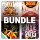 New Year Party Flyer Bundle - GraphicRiver Item for Sale