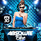Absolute Blue (Flyer Template 4x6) - GraphicRiver Item for Sale