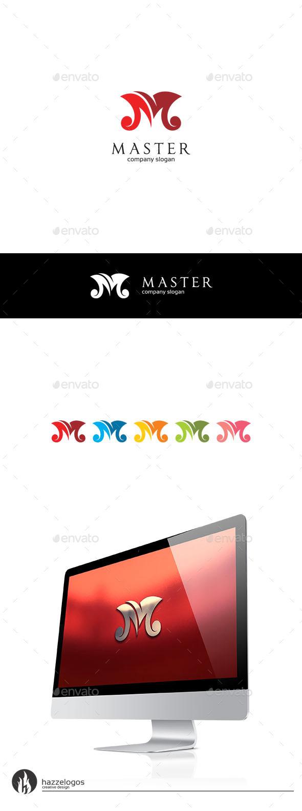 Master - Letter M Logo - Letters Logo Templates