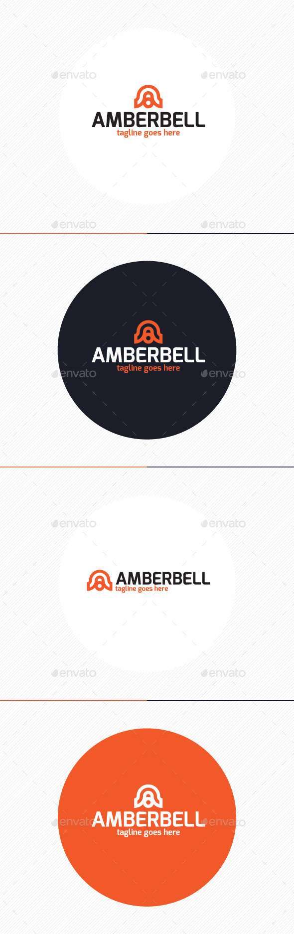 Amber Bell Logo • Letter A - Letters Logo Templates