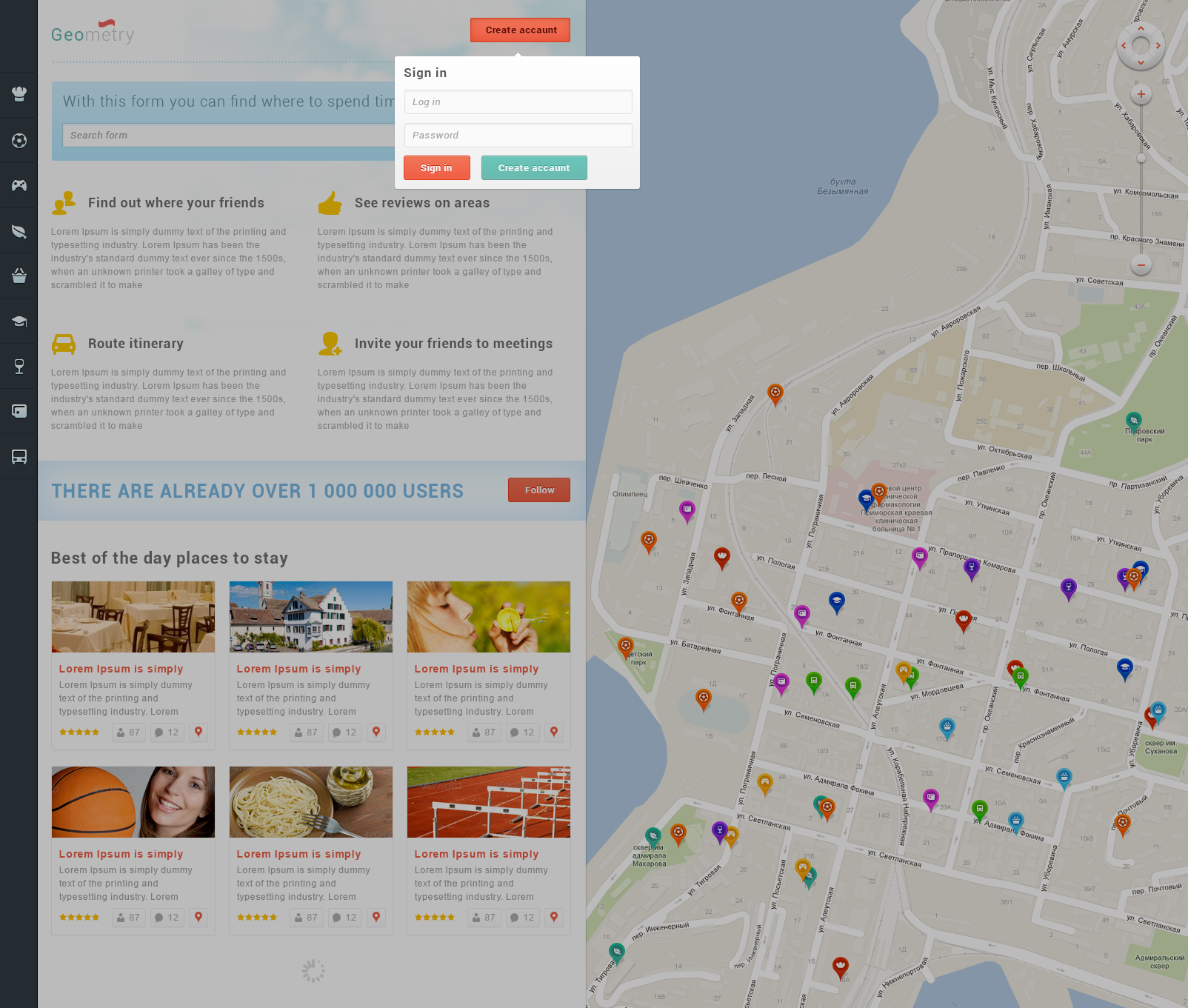 GeoMetry – HTML Geolocation Template v2 by MatArt | ThemeForest