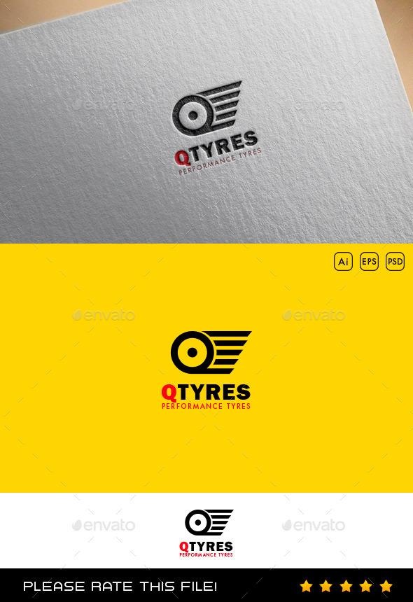 Tire Logo - Vector Abstract