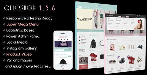 Quickshop – Responsive Shopify Theme