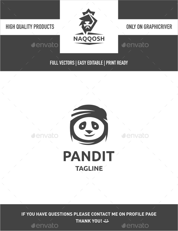 Pandit - Animals Logo Templates