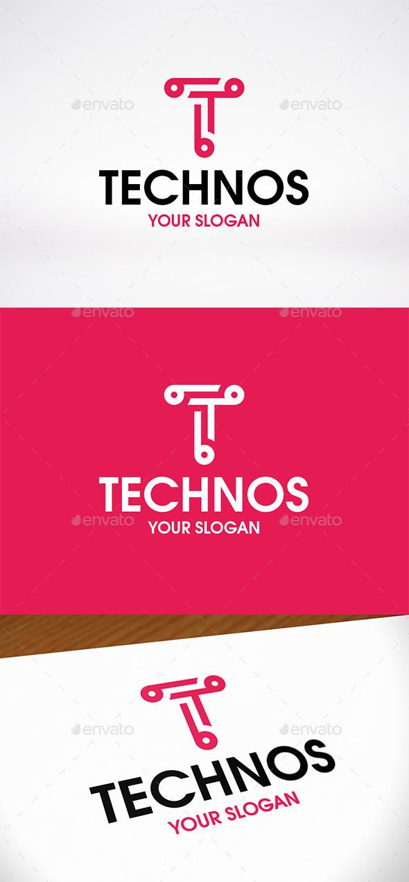 Tech Letter T Logo Template - Letters Logo Templates
