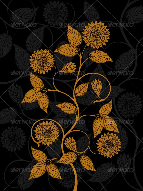 Floral pattern - Flowers & Plants Nature