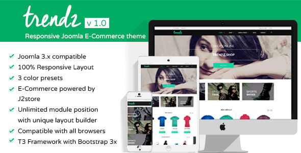 Image of TP - Trendz Joomla eCommerce Template