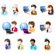 Various People Glossy IconSet - GraphicRiver Item for Sale