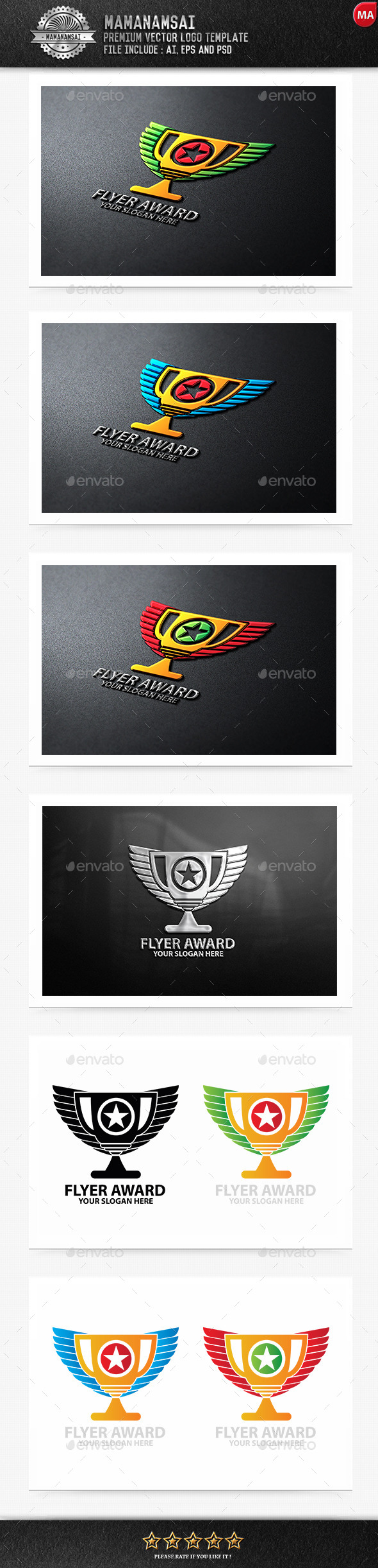 Flyer Award Logo - Logo Templates