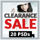 Clearance Sales Web Banners - GraphicRiver Item for Sale