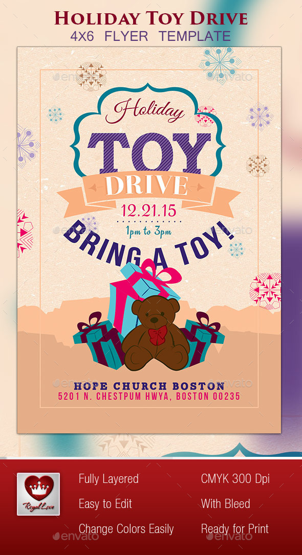 Holiday Toy Drive II  - Holidays Events