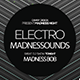 Electro Madness Facebook Cover - GraphicRiver Item for Sale