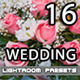 16 Wedding Premium Lightroom Presets - GraphicRiver Item for Sale