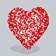 3D Heart spheres - 3DOcean Item for Sale