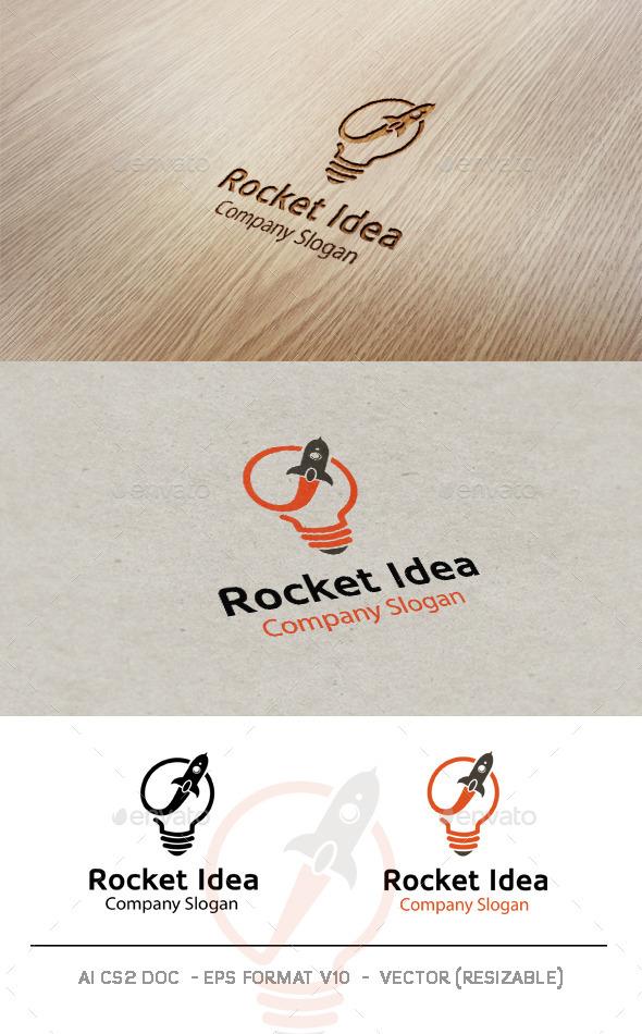 Rocket Idea Logo  - Symbols Logo Templates