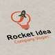 Rocket Idea Logo  - GraphicRiver Item for Sale