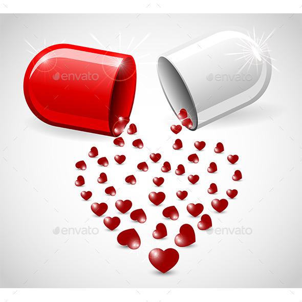 Love Pill - Valentines Seasons/Holidays