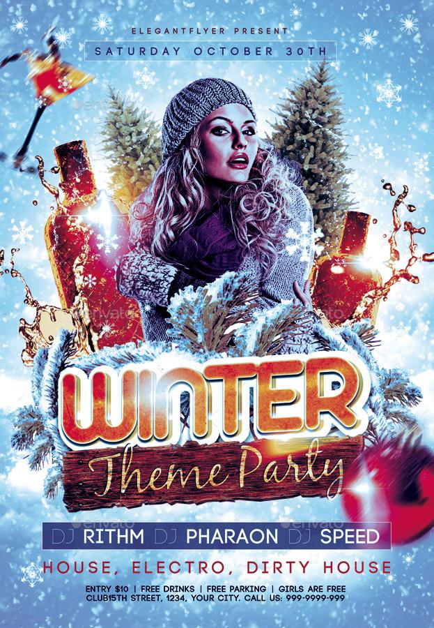 winter theme party