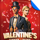 Valentine's After Hours Hipster Flyer Template