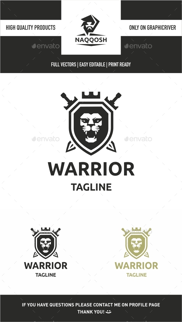 Warrior  - Crests Logo Templates