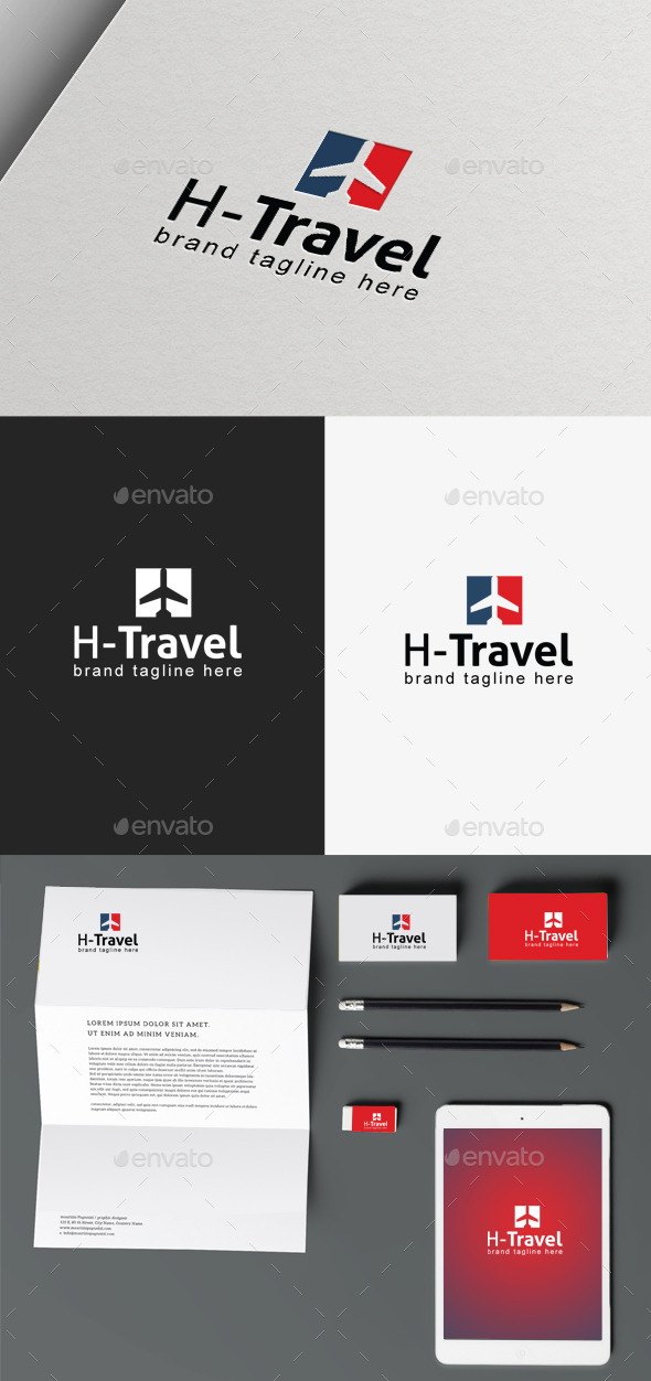 Travel Logo - Objects Logo Templates