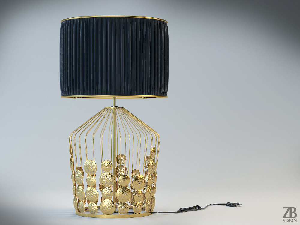 Grapes Table Lamp By Luckyfox 3docean