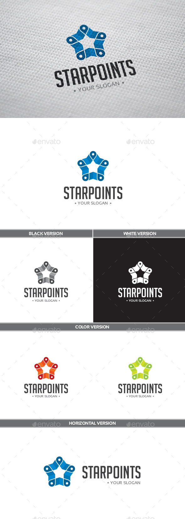 Starpoints Logo - Objects Logo Templates