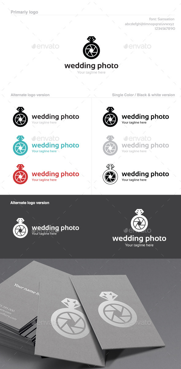Wedding Photo Logo - Objects Logo Templates